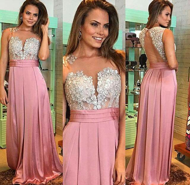 1067 best Vestidos social images on Pinterest | Party dresses, Ball ...