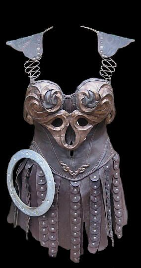 Xena's ( Played by Lucy Lawless ) Signature Costume