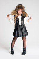 Spódniczka LEATH  http://www.kids.stoneskirts.pl/  #fashionkids #modadziecieca #skirts #fashion #moda #kids #spodniczki