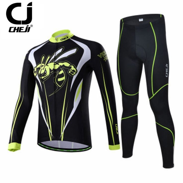 (42.48$)  Watch more here  - Cheji Winter Mens Long Sleeve Bike Jersey Sets Winter Sports Bicycle Cycling Clothing Ropa Invierno Ciclismo Road Cycling Jersey