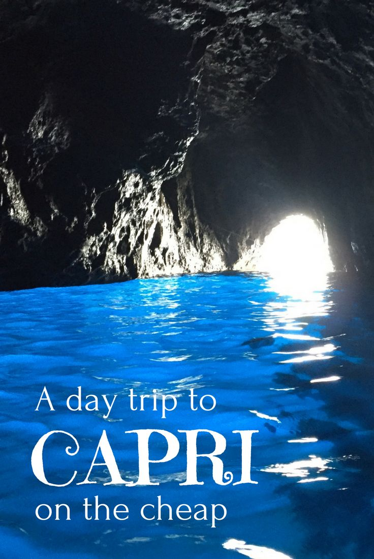 A visit to Capri doesn't have to blow the budget - take a look at four ways to save money in our post #acrosslandsea