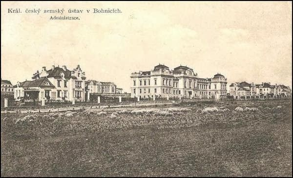 The Psychiatric Hospital in Praha-Bohnice, 1911.