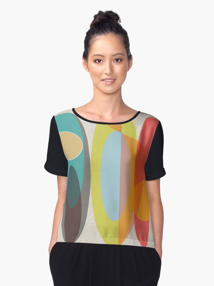 """Sold Women's Chiffon Top of SURF!"" by mirimo 