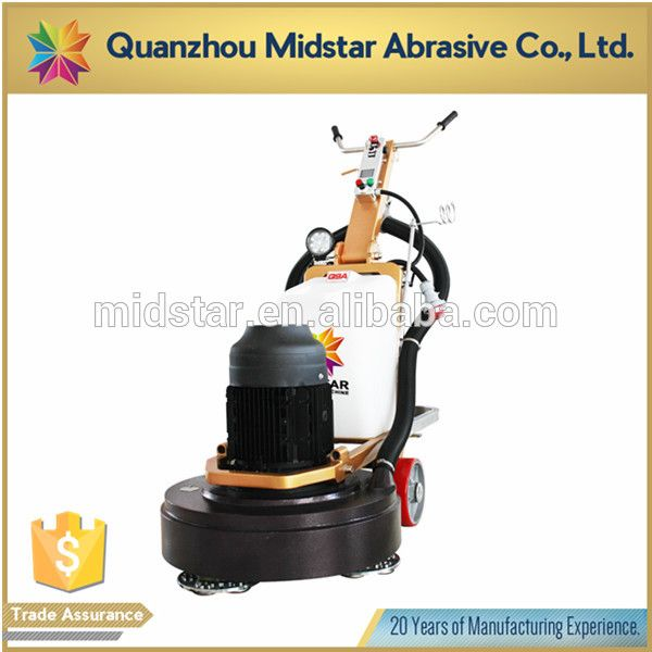Concrete Floor Grinding Machines, your machine can affect the polishing effect though your pads is good, just choose a right machine for yourself.