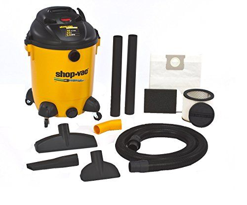 Shop-Vac 9689400 5.5-Peak Hp Ultra Pro Wet Or Dry Vacuum With Built-In Pump, 14-Gallon, 2015 Amazon Top Rated Wet/Dry Vacuums #HomeImprovement