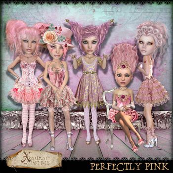 Perfectly Pink Art-dolls