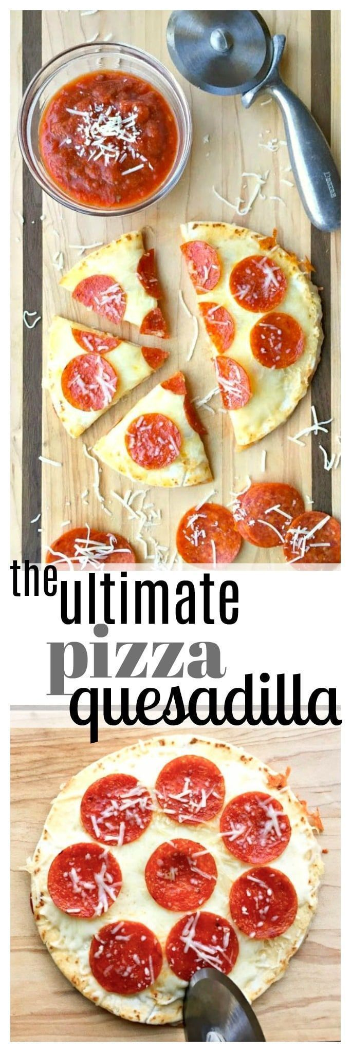 The best of both worlds--- pizza and a quesadilla!…