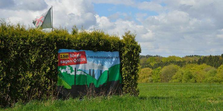 Flächennutzungsplan in Bergisch Gladbach - Gewerbe fast nur in Schutzgebieten – Quelle: http://www.ksta.de/24628870 ©2016
