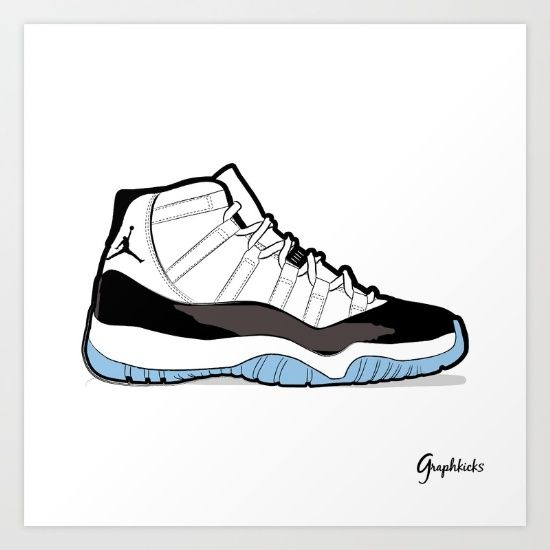 drawing, shoes, sneakers, nike, air, jordan, carmine,graphic, design,  illustrator, illustration, picture,파인아트,일러스트레이션,일러스트,패션,드로잉,그림, ...