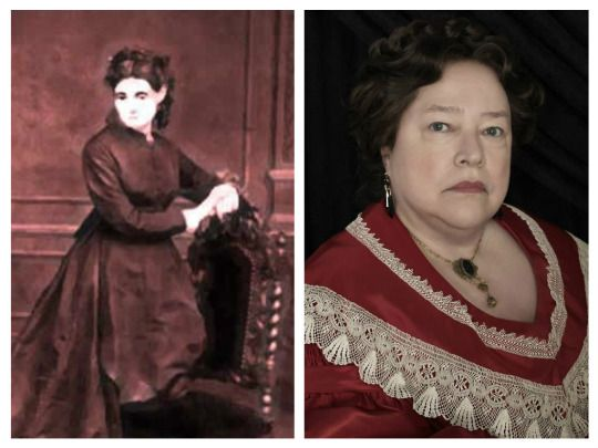 "Coven: Madame Delphine LaLaurie - A handful of main characters from Coven were based on real people, but none as chilling as Madame Delphine LaLaurie. Portrayed by Kathy Bates on the show, LaLarie was a prominent New Orleans socialite in the 1800s. She was discovered to have tortured and killed many of her slaves in her ""Chamber of Horrors,"" and her house is still said to be haunted."