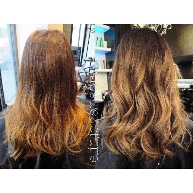 Avant-Apres : ELIN JOHANSSON on Instagram: | WAVY MOCCABRONDE | #before #after #hair #haircut #haircolor #moccablonde #moccabronde #moccahaircolor #hairstyle #hairwaves #workbyme