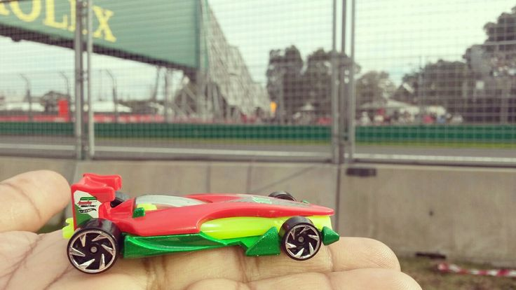 #toytrips with my #f1 #car whizzing by the #australiangp  at #albertpark in #melbourne #australia  @yooamigo  #ridetheworld with #yooamigo  Sign up online at: www.yooamigo.com  Download our Android app:  https://play.google.com/store/apps/details?id=com.youamigo.activity  Download our iOS app:  https://itunes.apple.com/us/app/yooamigo/id1140386908