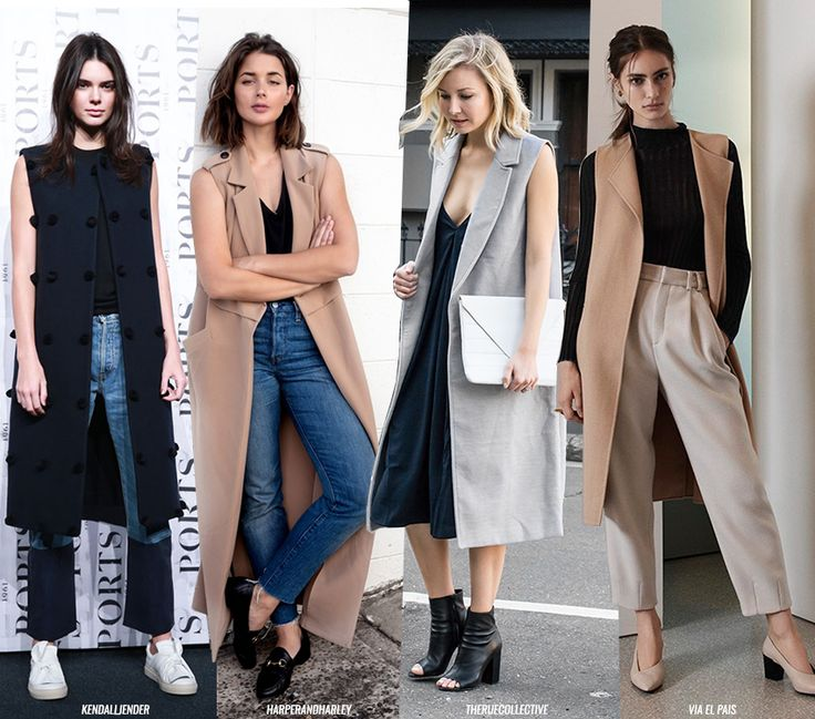 The Coolness Factor with a Sleeveless Coat