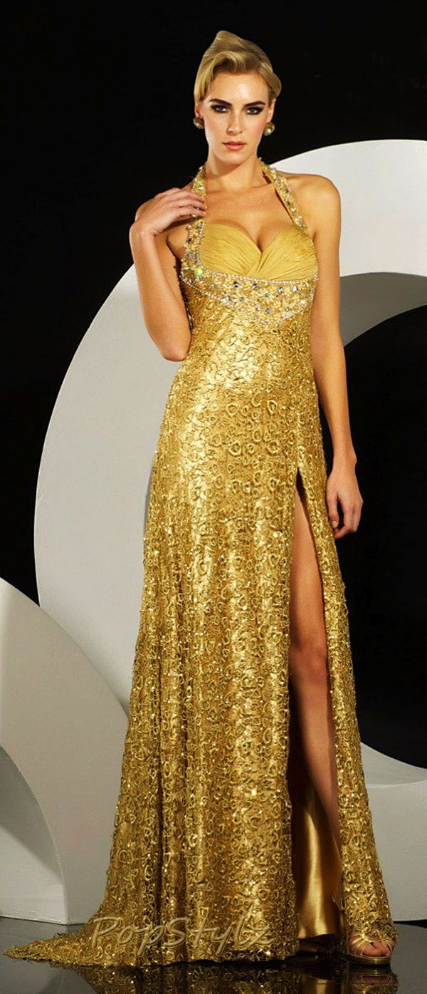 MNM Golden Couture Gown (great for the marine corps ball after I get ride of pregnancy bod)
