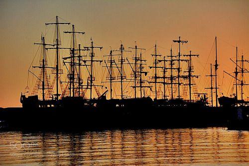 Les boats by HUSEYINAY  sea travel harbour seascape voyage Antalya Kemer huseyin ay les boats HUSEYINAY