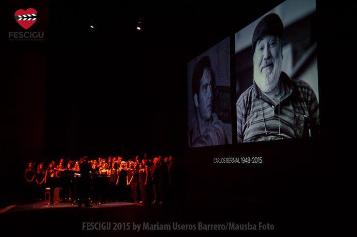 Gala Inaugural del XIII Festival de Cine Solidario de Guadalajara. Orfeón Joaquín Turina y homenaje a Carlos Bernal. Fecha: 29/09/2015 Foto: Mariam Useros Barrero/Mausba Foto.