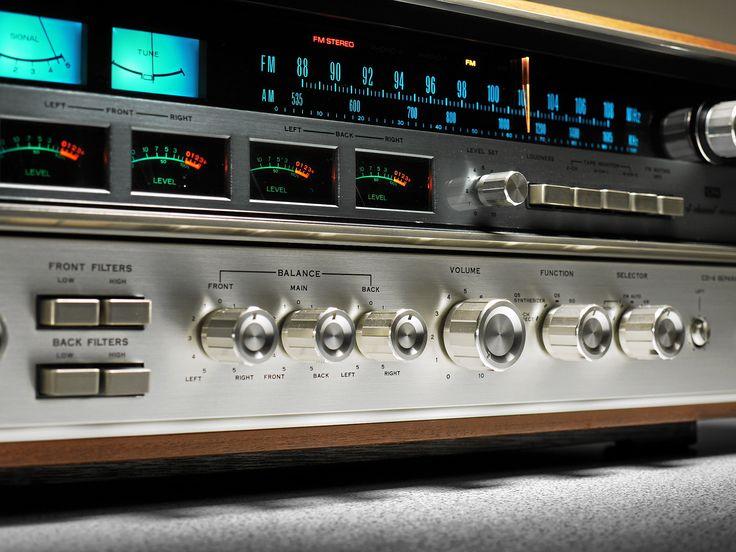 12 best dream setup images on pinterest record player turntable sansui qrx 7500a quadro receiver fandeluxe Images