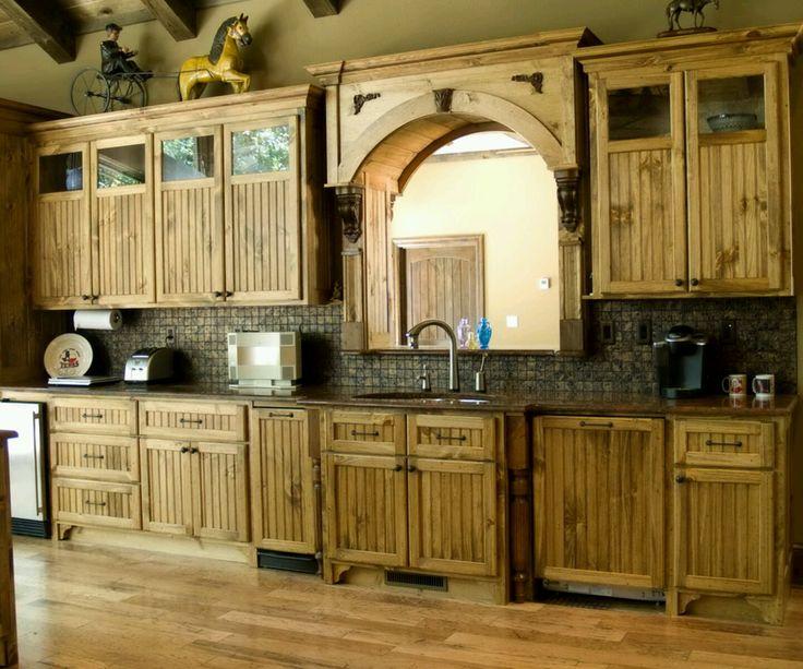 pallet kitchen cabinets - Google Search