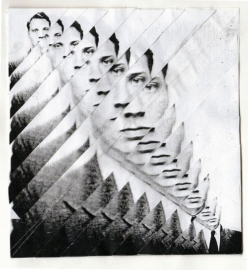 Kim Morley. Fragmented Collage # 1.