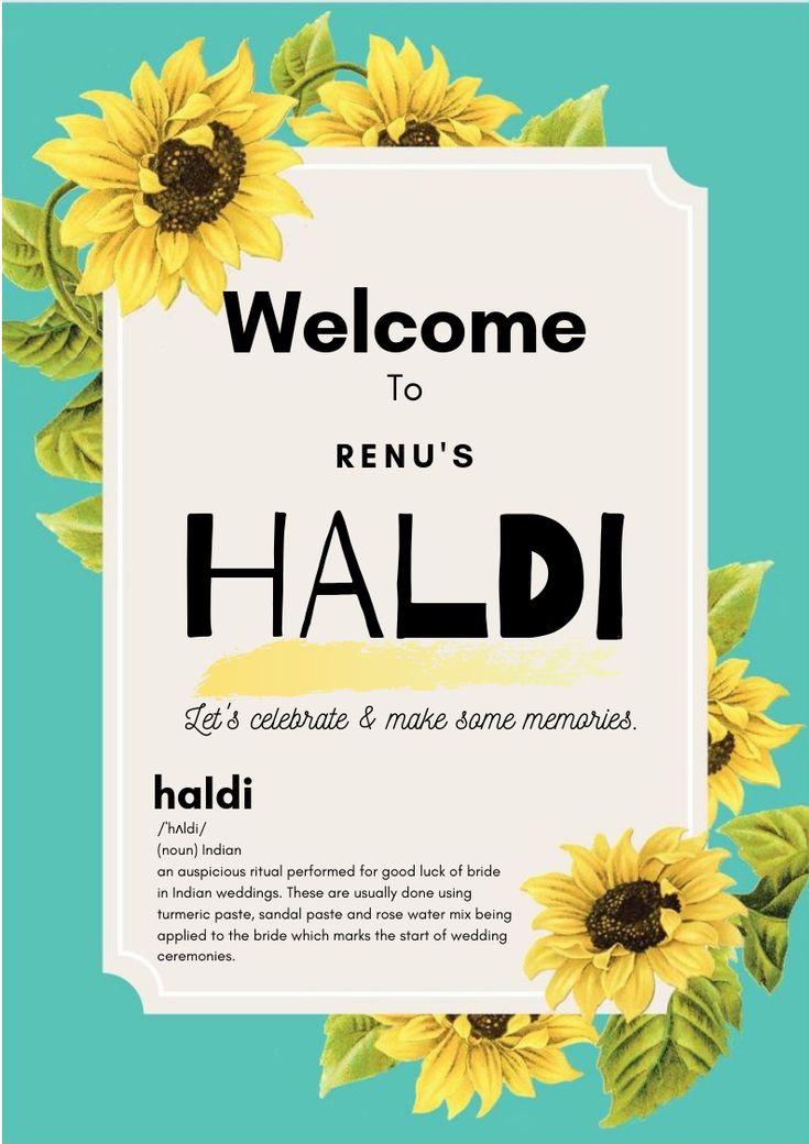 Haldi ceremony indian wedding invitation box haldi