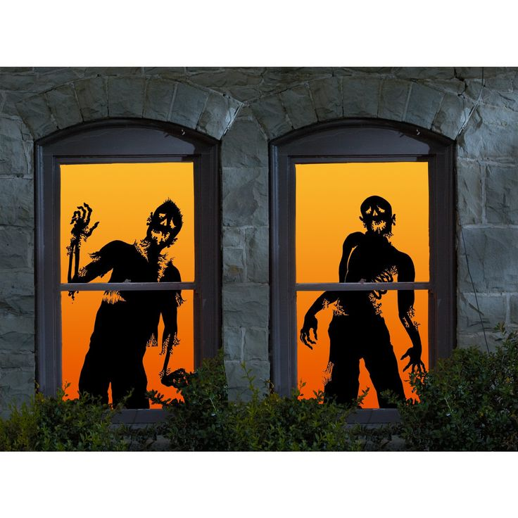 25 best images about halloween ideas on pinterest for Halloween window designs