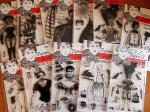 stampART paper doll workshop