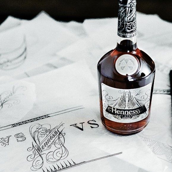 A silky and smooth Limited Edition bottle of Hennessy turns a single sip into a multisensory experience.  @hennessyus . . . . . #Hennessyus #hennessy #cognac #collector #limitededition #limited #scottcampbell #alcohol #liquor #design #bottle #luxury #taste #drink #cocktail #bar #dotluxury #smooth #worldsfinest #fine