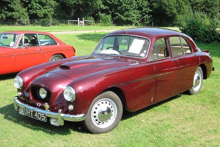 1955 Bristol 405 4-door Saloon