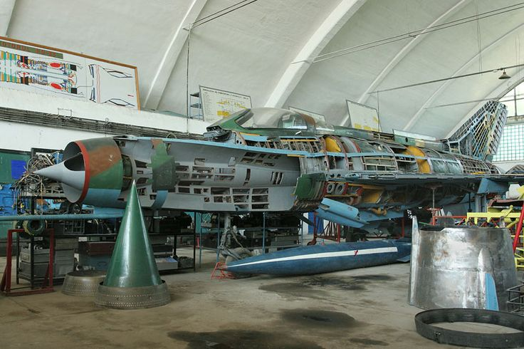 MiG-21F-13 (706) 'Popic' all with the Technical Training School at Boboc, Romain