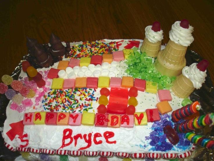 Bryce Birthday Cake