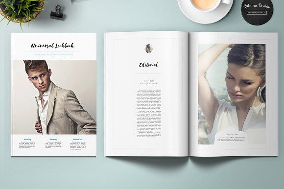 Universal Lookbook by Kahuna Design on @creativemarket