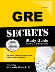 Prepare with our GRE Study Guide and GRE Exam Practice Questions. Print or eBook. Guaranteed to raise your GRE test score. Get started today!