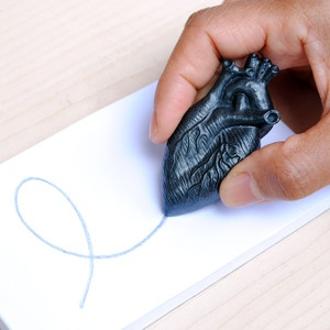 Graphite Heart Curio.  I could honestly say that I write with my heart - lol!