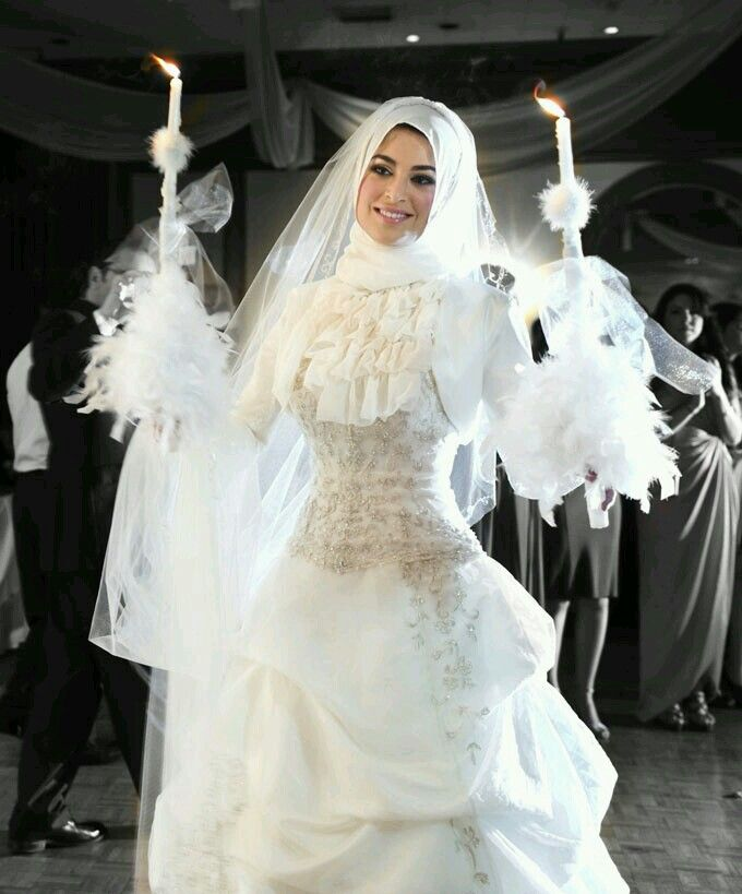 Hijab#wedding#dress