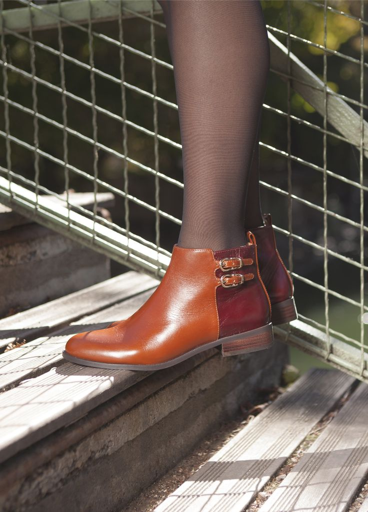 bottine tavia camel bottines plates chaussures femme femme wishlist pinterest. Black Bedroom Furniture Sets. Home Design Ideas