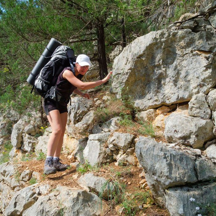 Nothing beats breaking a sweat in the beauty of nature, and with hiking you get a pretty good bang for your buck, burning nearly 430 calories (based on a 150-pound woman) for every hour spent on the