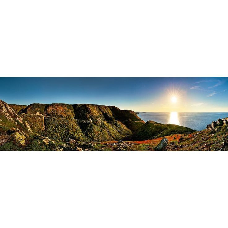 My latest release is titled Skyline Trail - Order 641 - photographed in Cape Breton Highlands National Park in Nova Scotia Canada - featuring a 180 degree view of the Appalachian Mountain range leading toward the setting sun over the Atlantic Ocean. Have you ever been to Cape Breton?  I originally released this image last week as three separate images but it didnt post to my feed as I had hoped.  Hopefully this is easier to view.  Have a great night!