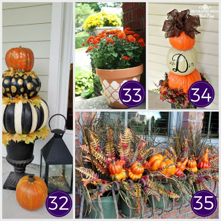 Looking to decorate your home for fall on a budget…