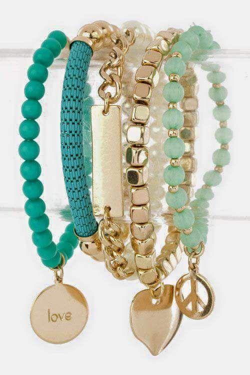 Charm Bracelet - MiamiB Bracelet 1 by VIDA VIDA CwdPl8xA