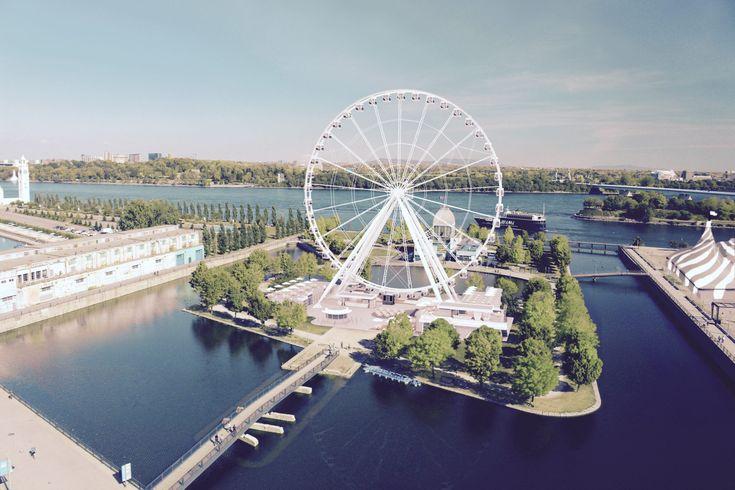 La Grande roue de Montréal : nouvelle activité au Vieux-Port!