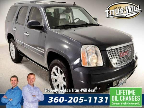 Lowest Price Guarantee – 2008 GMC Yukon Denali SUV