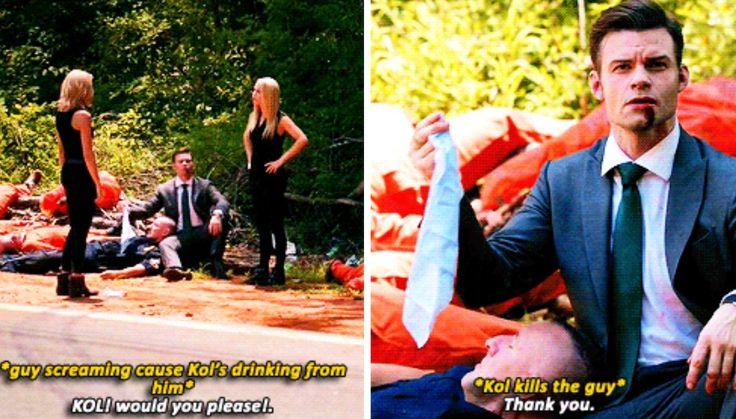 The Originals 4x02 #Kol #Elijah - my favorite scene from this episode