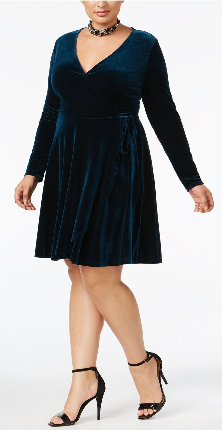blue wrap dress clothing : Target