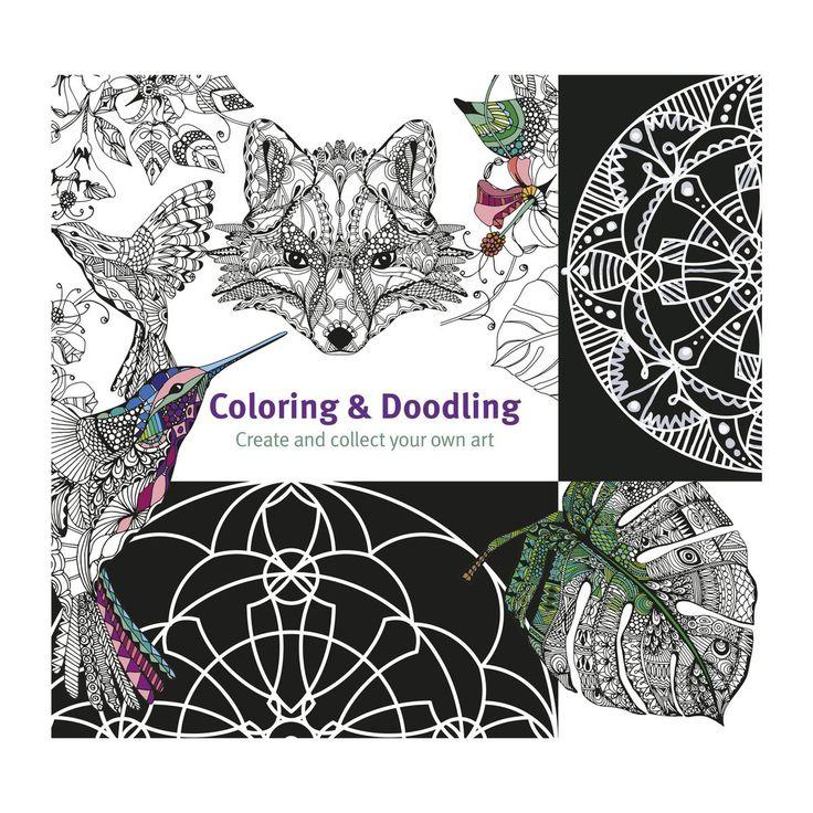 Malebog Coloring & Doodling - panduro.dk