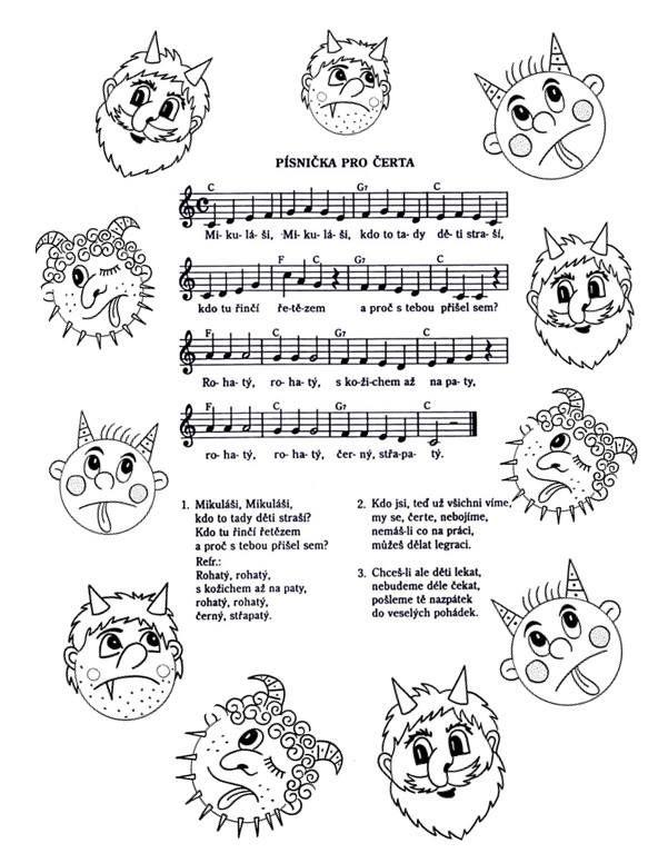 písnička pro čerta