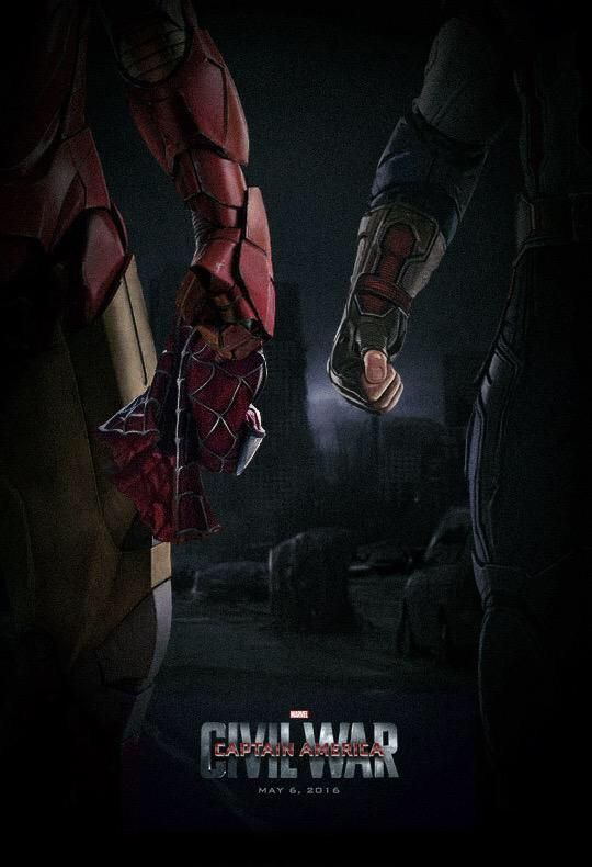 Check out this great poster for Captain America: Civil War by @SG_Posters!
