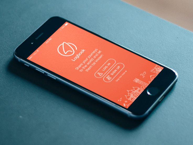 Logbook Landing Page by Indra Permana