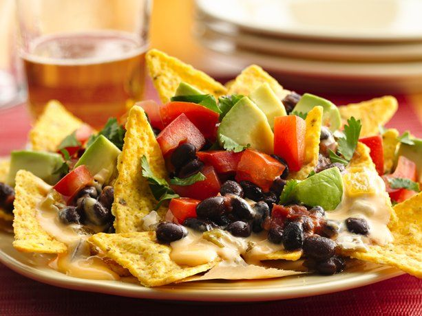 Beer Queso Nachos - just in time for Cinco de Mayo!