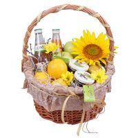 Купить корзинку «Дары лета» с доставкой