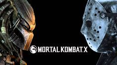 mortal kombat x predator vs jason wallpaper hd Black Background